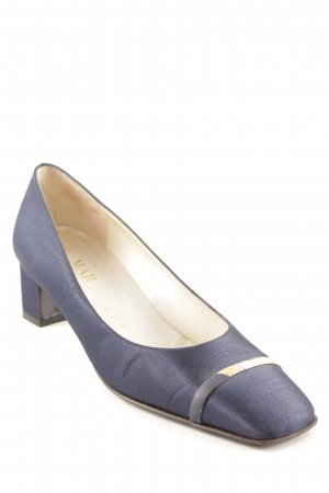 Mab Studio Loafer blu-oro elegante