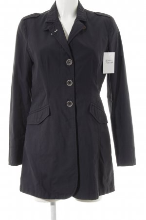mabrun Trenchcoat dunkelblau Business-Look