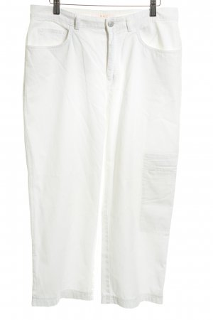Mac 7/8-broek wit casual uitstraling