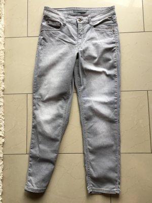 MAC 7/8 Jeans Angela grau