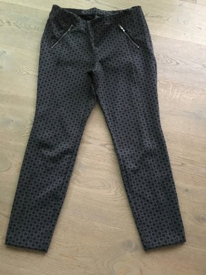 MAC/Ankle Hose, schwarz grau