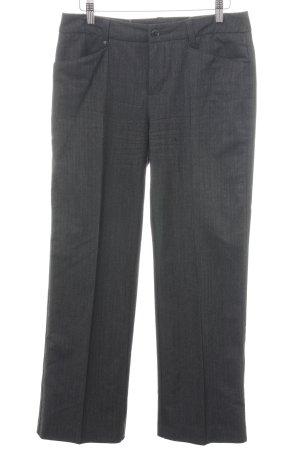 Mac Pantalon zilver volledige print zakelijke stijl
