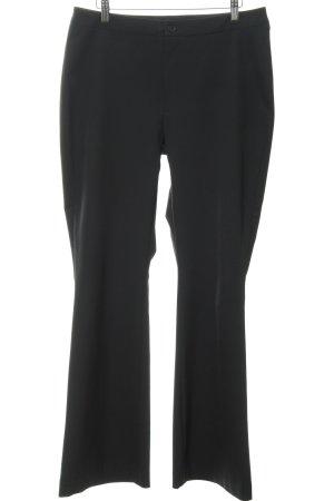 Mac Pantalone da abito nero stile professionale