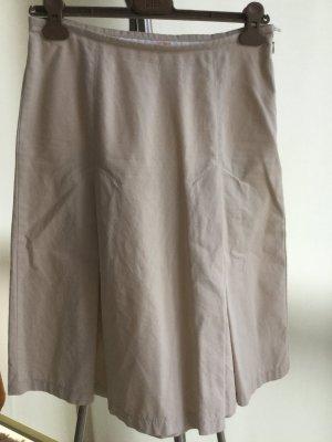 MAC: Bequemer Sommerrock mit eingelegten Falten, aus weicher Baumwolle
