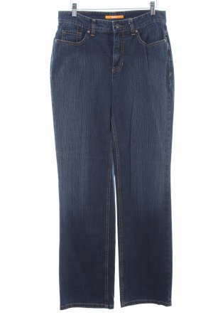 Mac Boot Cut Jeans dunkelblau Casual-Look