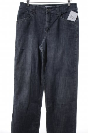 Mac Boot Cut Jeans graublau Casual-Look