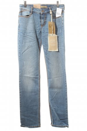 Mac Boot Cut Jeans hellblau Casual-Look