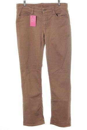 Mac Boot Cut Jeans light brown casual look