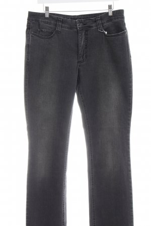 Mac Boot Cut Jeans schwarz-grau meliert Casual-Look