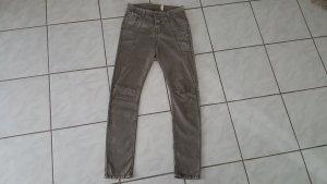 MAC Jeans Pantalon boyfriend kaki coton