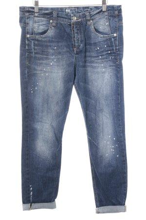 Mac Boyfriend jeans blauw ontspannen stijl