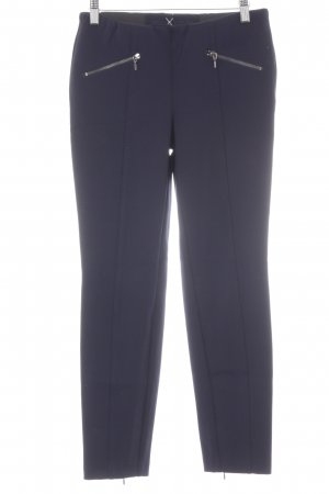 Mac Bundfaltenhose dunkelblau Business-Look