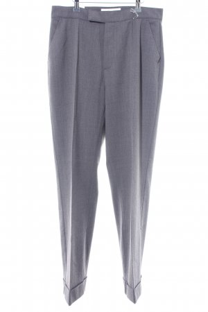 Mac Pleated Trousers dark grey business style