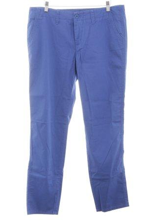 Mac Chinohose blau Casual-Look