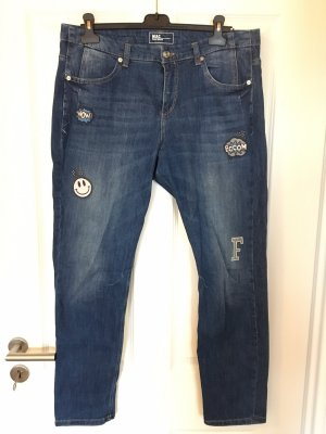 MAC Jeans Carrot Jeans blue cotton
