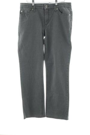 Mac Pantalone cinque tasche grigio chiaro stile da moda di strada