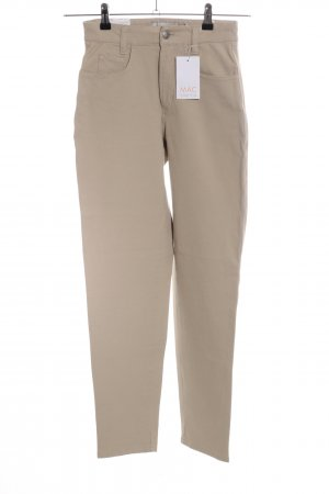 Mac Five-Pocket Trousers cream business style