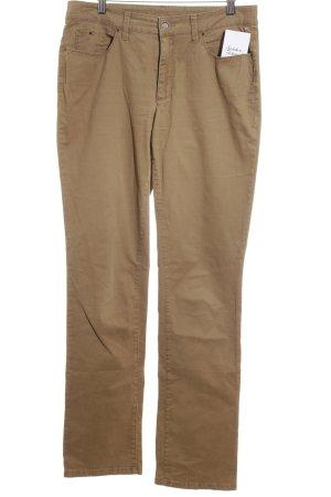 Mac Five-Pocket-Hose bronzefarben schlichter Stil