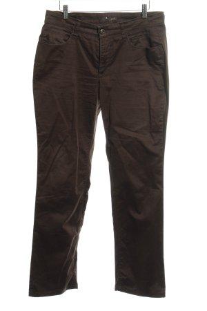 Mac Pantalone cinque tasche marrone scuro stile boyfriend
