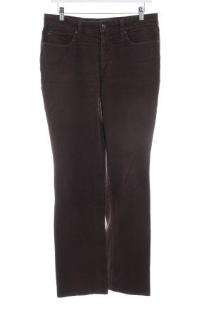 Mac Five-Pocket Trousers dark brown college style
