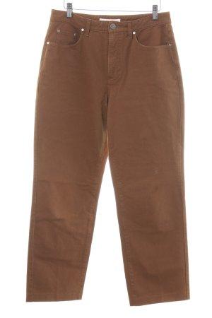 Mac Five-Pocket-Hose bronzefarben-braun Casual-Look