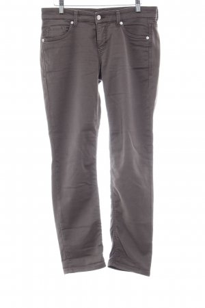 Mac Five-Pocket-Hose graubraun Casual-Look