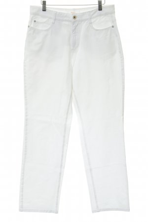 Mac Five-Pocket Trousers white casual look
