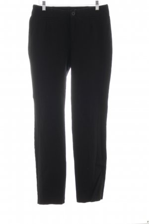 Mac Hoge taille broek zwart casual uitstraling