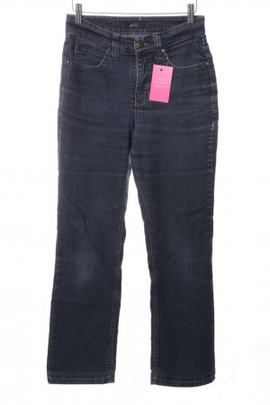 Mac Hoge taille jeans blauw casual uitstraling
