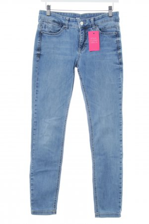 Mac Hoge taille jeans korenblauw casual uitstraling
