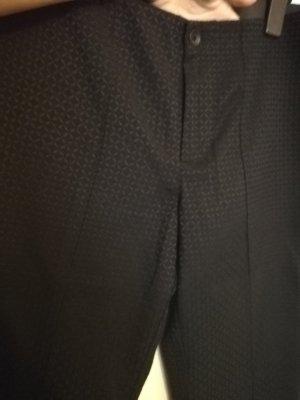 Mac Hoge taille broek zwart-donkergrijs