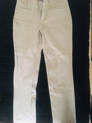 MAC Jeans Vaquero de talle alto crema Algodón
