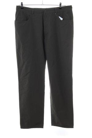 Mac Lage taille broek zwart casual uitstraling