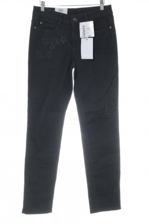 "MAC Jeans Jeans a 7/8 ""Angela Pipe"" nero"