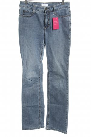 MAC Jeans Boot Cut Jeans kornblumenblau Casual-Look
