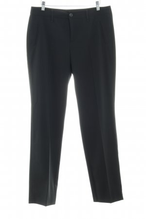 MAC Jeans Bundfaltenhose schwarz Business-Look