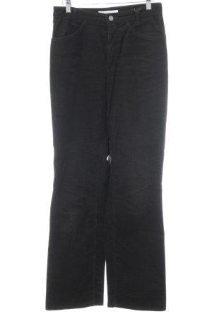 MAC Jeans Corduroy Trousers dark brown casual look