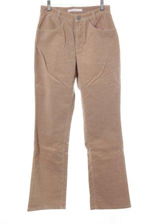 """MAC Jeans Pantalon en velours côtelé """"Melanie"""" chameau"""
