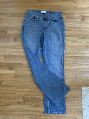 Mac Low Rise jeans korenblauw-staalblauw Katoen