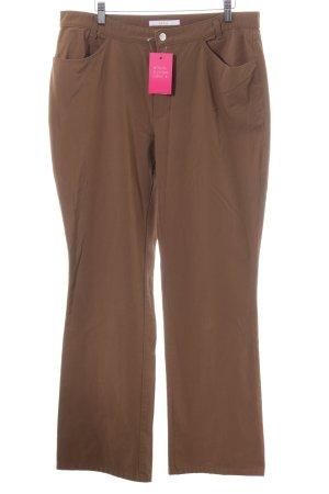 MAC Jeans Pantalon cinq poches brun style décontracté