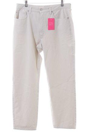 MAC Jeans Pantalon cinq poches blanc cassé style décontracté