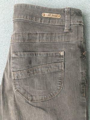 Mac Pantalone cinque tasche marrone scuro-marrone-grigio