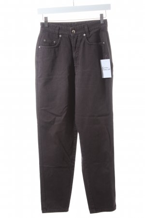 MAC Jeans High Waist Jeans anthrazit Casual-Look