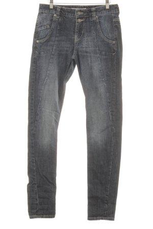 MAC Jeans High Waist Jeans dunkelblau schlichter Stil