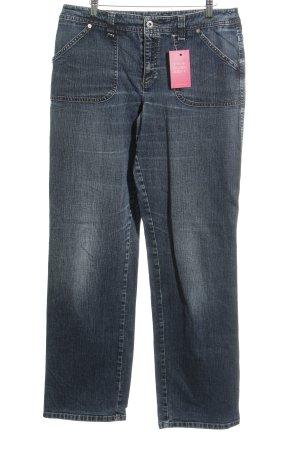 MAC Jeans Jeans flare bleu foncé style décontracté