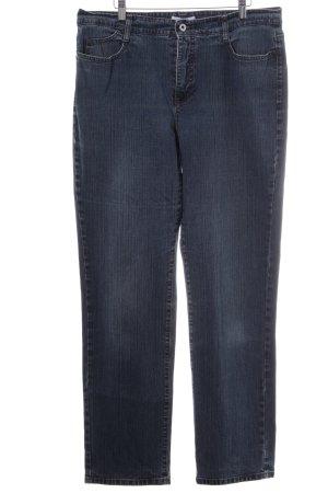 MAC Jeans Wortel jeans staalblauw casual uitstraling