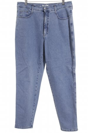 MAC Jeans Carrot Jeans steel blue casual look