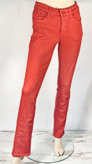 MAC Jeans Vaquero elásticos rojo Algodón