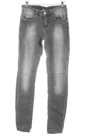 MAC Jeans Skinny Jeans grau schlichter Stil