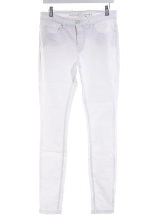 MAC Jeans Skinny Jeans weiß Elegant